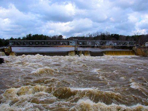 Bar Mills dam